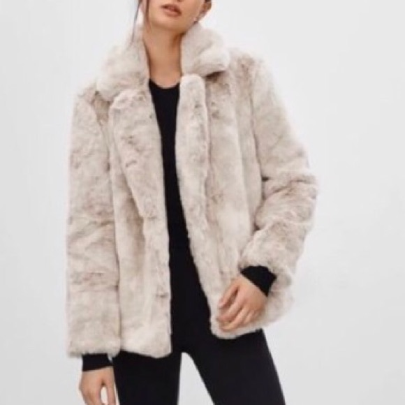 Aritzia Sunday Best Mortimer Faux Fur Coat